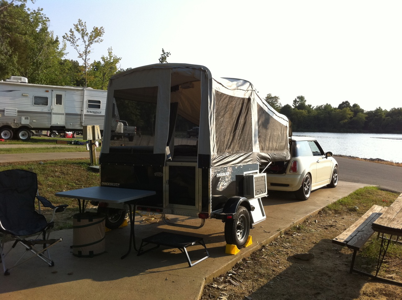 Livin Lite 5 0 With Custom Sewn Awning And Vestibule